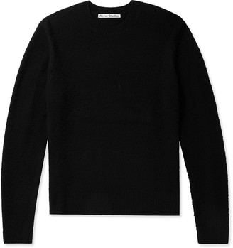Acne Studios Pilled Wool And Cashmere-Blend Sweater