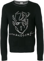 Saint Laurent Handsome intarsia jumper