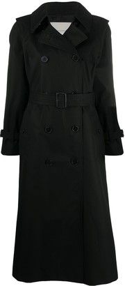 MACKINTOSH Midi Cotton Trench Coat