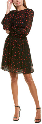 Warm Rivoli A-Line Dress