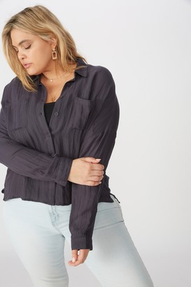 Cotton On Curve Oversized Drop Shoulder Shirt