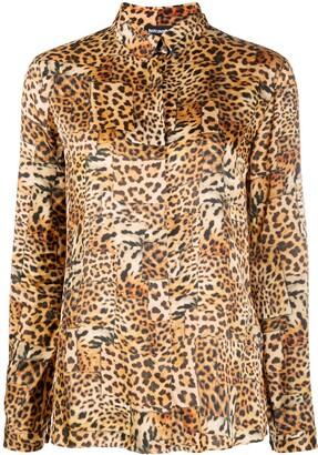 Just Cavalli Leopard Print Shirt