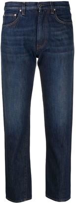 Totême Cropped Dark Wash Jeans