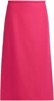 Rochas Wool-blend midi skirt