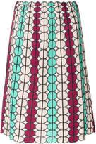 M Missoni geometric print skirt