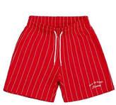 [UNISEX] Dizzee Striped Short Pants (Red)