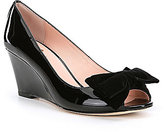 Kate Spade Roberta Patent Leather Wedges