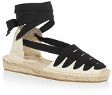 Soludos Women's Gladiator Lace Up Espadrille Demi Wedge Sandals