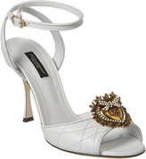 Dolce & Gabbana Leather Sandal
