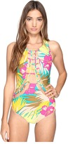 Volcom Hot Tropic One-Piece Women's Swimsuits One Piece