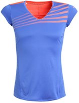 Mizuno Sports Shirt Dazzling Blue/fiery Coral