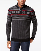 Club Room Men's Mock-Neck Sweater, Only at Macy's