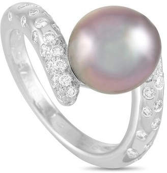 Heritage Chanel Chanel 18K 0.50 Ct. Tw. Diamond & Pearl Concept Ring