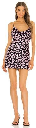 MILLY Drue Jungle Leopard Mini Dress