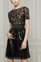 Hanita Lace Cocktail Dress