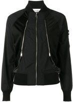 Paco Rabanne zip detailed bomber jacket