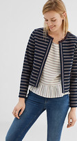 Esprit Open short blazer in firm fabric