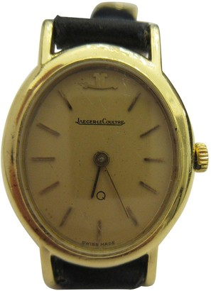 Jaeger-LeCoultre Vintage Other Yellow gold Watches
