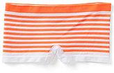 Copper Key Big Girls 7-16 Seamless Boy-Short Striped Panties