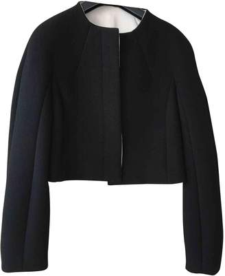 Albino Black Wool Jacket for Women