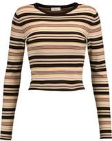A.L.C. Rene Striped Merino Wool-Blend Sweater