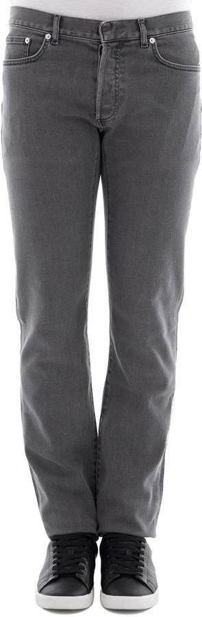 Christian Dior Grey Fabric Pants