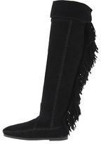 Minnetonka Over-The-Knee Fringe Boot
