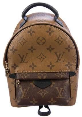 Louis Vuitton 2017 Reverse Monogram Mini Palm Springs Backpack