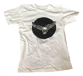 Chrome Hearts White Cotton Top for Women