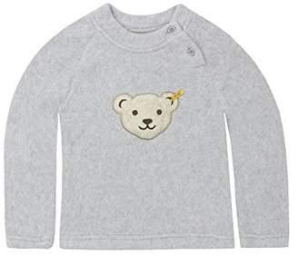 Steiff Baby 0006878 Sweatshirt 1/1 Sleeves Softgrey Melange, (Size:86)