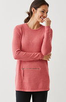 J. Jill Pure Jill Zip-Pocket Pullover