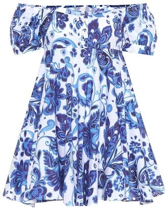 Caroline Constas Dina stretch cotton minidress