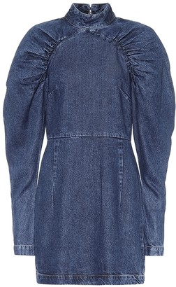 Rotate by Birger Christensen Kim denim minidress