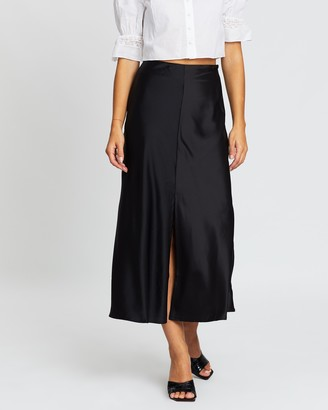 Atmos & Here Pansy Split Front Skirt