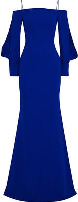 Roland Mouret Fimber Cold-shoulder Crepe Gown