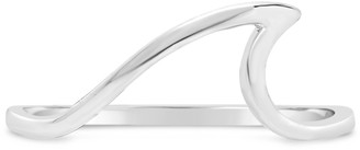 Sterling Forever Sterling Silver Wave Ring