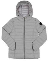 Point Zero Graphite Hooded Puffer Jacket