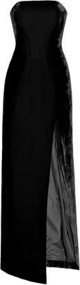 Michael Lo Sordo Velvet Maxi Dress