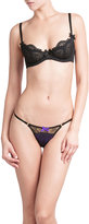 L'Agent by Agent Provocateur Anetta Thong with Lace