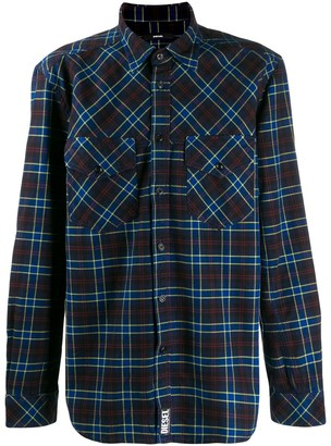 Diesel Western check shirt