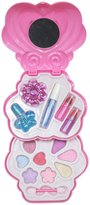 Petitebella Pink Heart Make Up Box Eyeshadow Nail Polish Set for Girl 2+