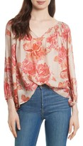 The Great Women's The Dreamer Print Silk Top