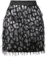 Milly embellished straight skirt