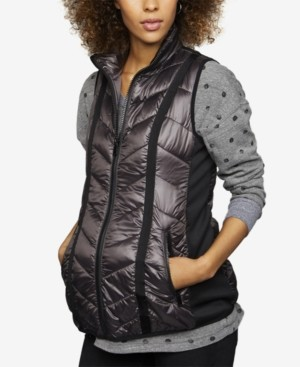 A Pea in the Pod Maternity Quilted Puffer Vest