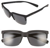 Dolce & Gabbana 58mm Semi Rimless Sunglasses