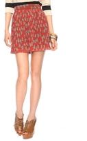 Forever 21 Leopard Bow Skirt
