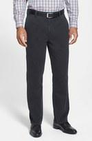 Cutter & Buck Men's Big & Tall 'Curtis' Flat Front Five-Pocket Cotton Twill Pants