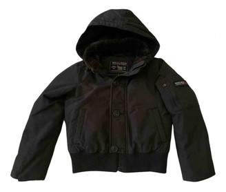 Woolrich Brown Synthetic Jackets & Coats