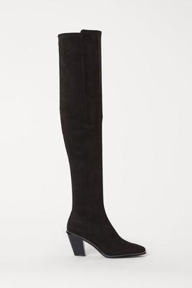 H&M Knee-high Boots - Black
