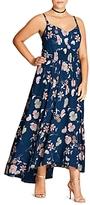 City Chic Naive Floral Maxi Dress